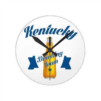 Kentucky Drinking team Clocks
