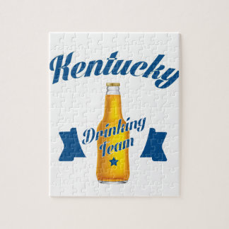 Kentucky Drinking team Jigsaw Puzzle