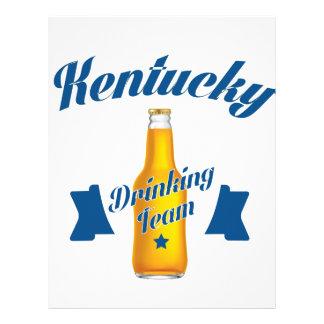 Kentucky Drinking team Letterhead