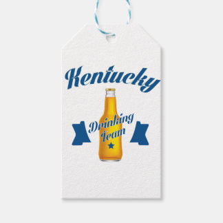 Kentucky Drinking team Pack Of Gift Tags