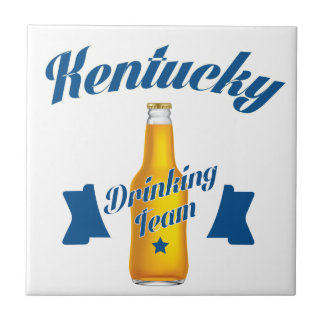 Kentucky Drinking team Tile