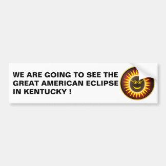 Kentucky Eclipse Bumper Sticker