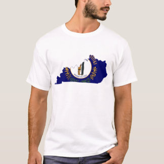Kentucky Flag Map T-Shirt