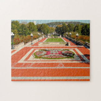 Kentucky Frankfort Plaza. Jigsaw Puzzle