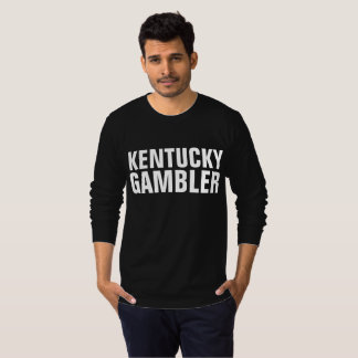 KENTUCKY GAMBLER black T-shirts