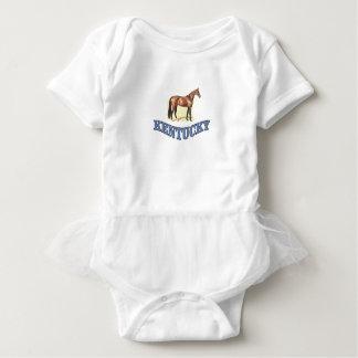Kentucky horse baby bodysuit