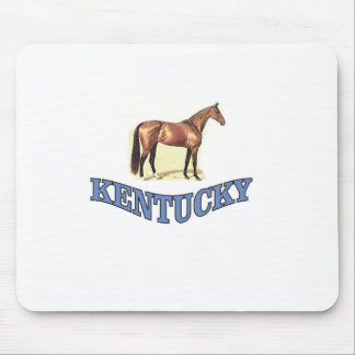Kentucky horse mouse pad