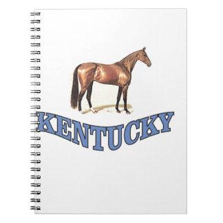 Kentucky horse notebook