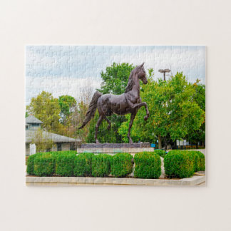 Kentucky Horse Park Lexington. Jigsaw Puzzle