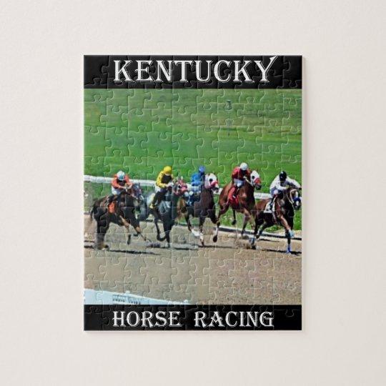 Kentucky Horse Racing Jigsaw Puzzle