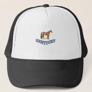Kentucky horse trucker hat