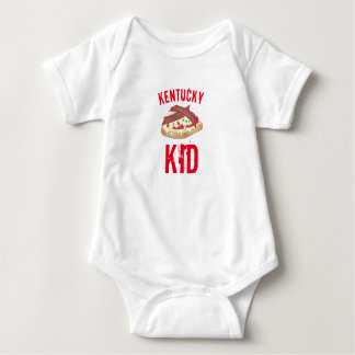 Kentucky Kid Hot Brown Openface Sandwich KY Baby Bodysuit