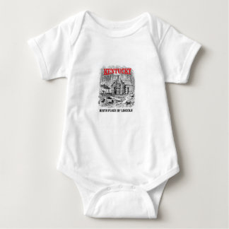 Kentucky Lincolns birthplace Baby Bodysuit
