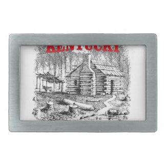 Kentucky Lincolns birthplace Belt Buckle