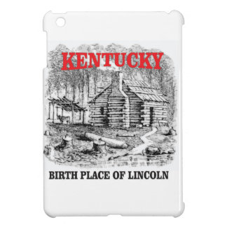 Kentucky Lincolns birthplace Cover For The iPad Mini