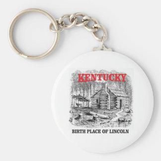 Kentucky Lincolns birthplace Keychain