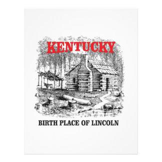 Kentucky Lincolns birthplace Letterhead