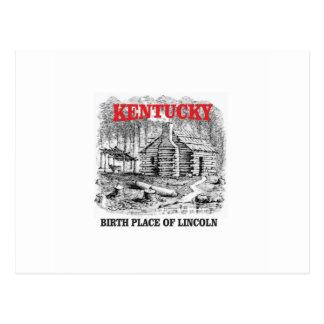 Kentucky Lincolns birthplace Postcard