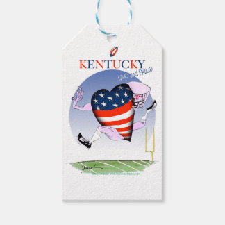 kentucky loud and proud, tony fernandes pack of gift tags