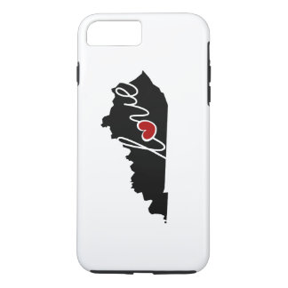 Kentucky Love! Gifts for KY Lovers iPhone 7 Plus Case