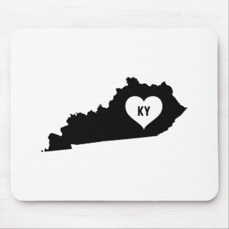 Kentucky Love Mouse Pad