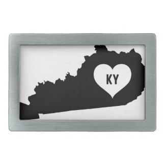 Kentucky Love Rectangular Belt Buckles