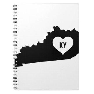 Kentucky Love Spiral Notebook