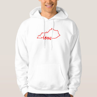 Kentucky Love State Silhouette Hoodie