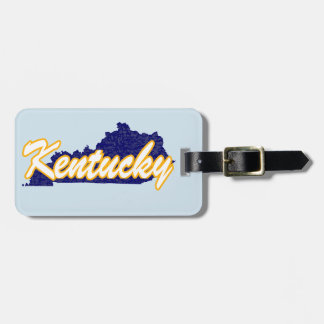 Kentucky Luggage Tag