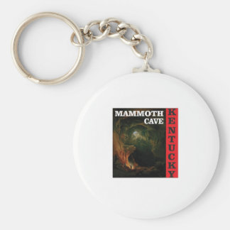 Kentucky mammoth cave keychain
