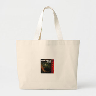 Kentucky mammoth cave large tote bag