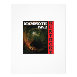 Kentucky mammoth cave letterhead
