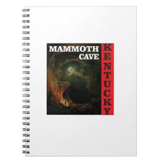 Kentucky mammoth cave notebook