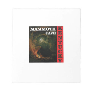 Kentucky mammoth cave notepad