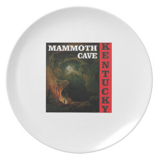 Kentucky mammoth cave plate