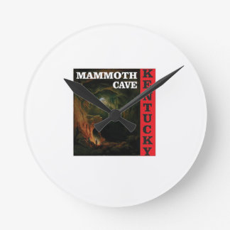Kentucky mammoth cave round clock
