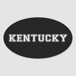 Kentucky Oval Sticker