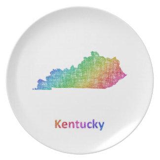 Kentucky Party Plates