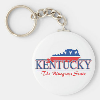 Kentucky Patriotic Keychain