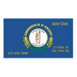 Kentucky State Business Card