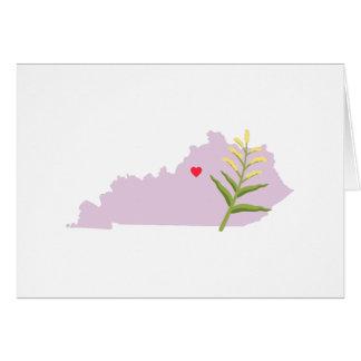 Kentucky State Card