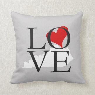 Kentucky State Love Pillow