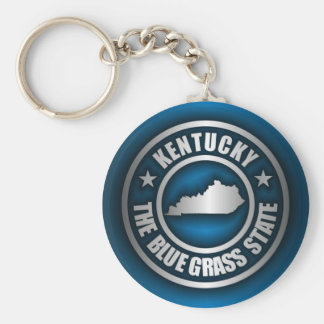 """Kentucky Steel (Blue)"" Keychain"