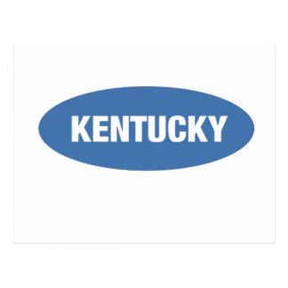 Kentucky - the Blue Grass State Postcard