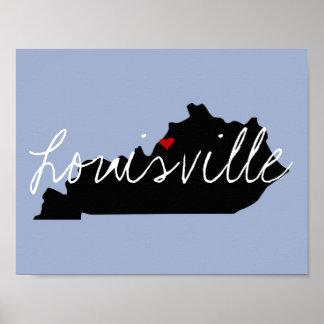 Kentucky Town Poster