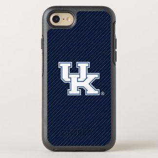Kentucky | UK Carbon Fiber Pattern OtterBox Symmetry iPhone 8/7 Case