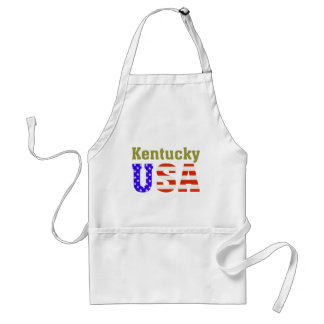 Kentucky USA! Standard Apron