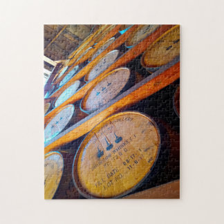 Kentucky Whiskey Barrels. Jigsaw Puzzle