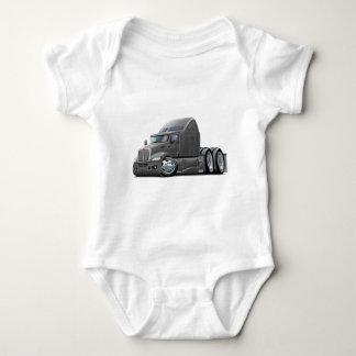 Kenworth 660 Grey Truck Baby Bodysuit
