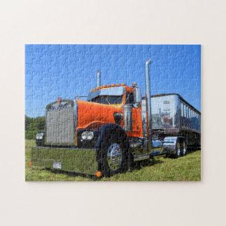 Kenworth W900A Dumper Puzzle